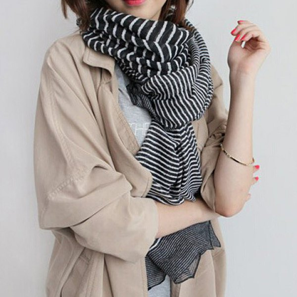 Stripes Pattern Scarf