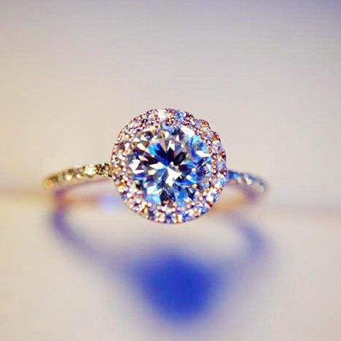 Brilliant Big Rhinestone Ring For Women