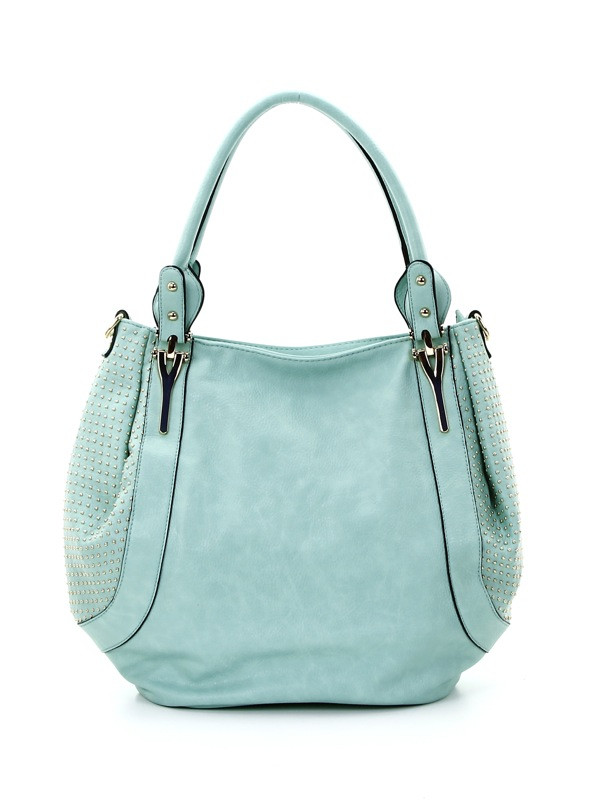 Studded Side Hobo handbag