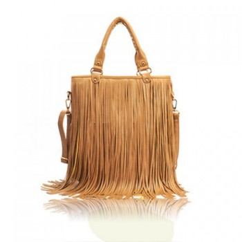 Wholesale Vintage Style Solid Color and Tassels Design Women