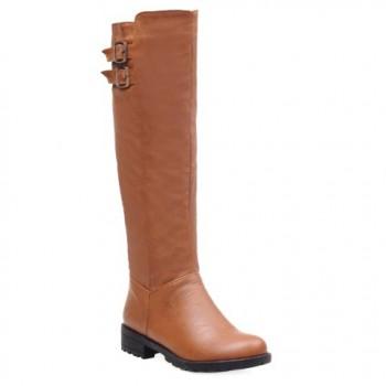 Buckles Design Boots