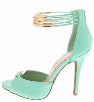 Cecily02 Mint Heel