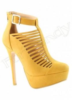 Georgeous Nubuck Women's Heels Yevone-10-NN