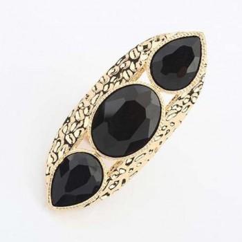 Glamourous Gemstone Embellished Ring For Women