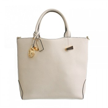 White Fashion Tote Bag