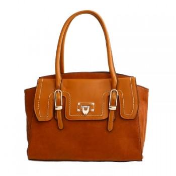 Brown Fashion Satchel Handbag