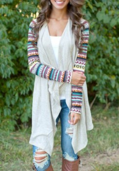 Draped Thin Cardigan