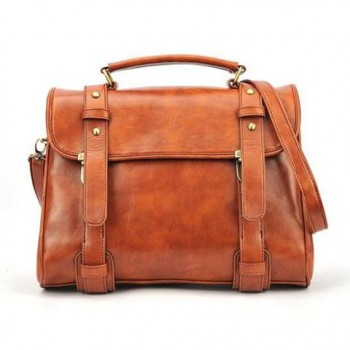 Fashion and Laconic Solid Color Covered Bag For Women