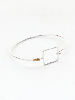 Square Wire Bracelet