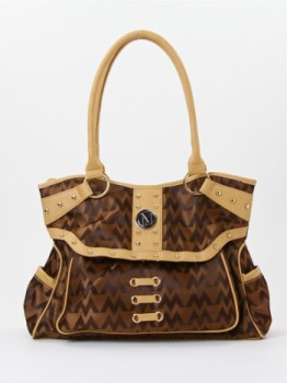 Designer inspired fashion handbag