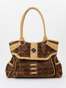 Designer inspired fashion handbag