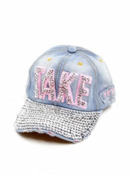 TAKE Bling Denim Hat