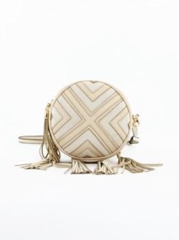 Tassel Round Cross Body Bag