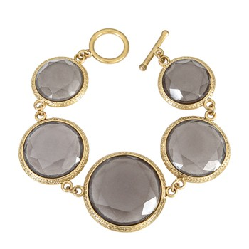 Sparkling Grey Bracelet